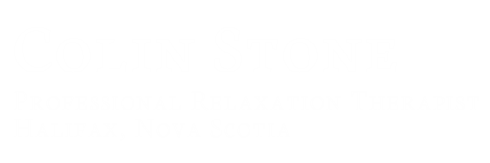 Colin Stone | Professional Relaxation Therapist | Halifax, Nova Scotia